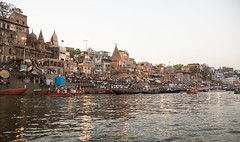 Varanasi waterfront S24A8007 (grebberg) Tags: varanasi uttarpradesh india march 2018 riverganges ganga ganges ghat sacred worship
