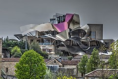 Hotel Marqués de Riscal HDR (Marcellinissimo) Tags: eltziego paísvasco spanien hdr canon eos5d eos5d4 eos hotel marqués de riscal marquesderiscal winery wine wein weingut gehry frankogehry guggenheim elciego spain rioja