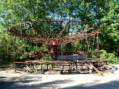 Ride at Pripyat Amusement Park (chibeba) Tags: chernobyl chornobyl exclusionzone exclusion zone ukraine radiation radiationzone holiday vacation tour daytour tourism travel may 2018 spring abandoned pripyat prypiat pripyatghosttown ghosttown abandonedtown 1980s ruins pripyatamusementpark amusementpark abandonedamusementpark abandonedthemepark abandonedrides rides