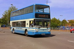 Great Yarmouth. (Chris Baines) Tags: first great yarmouth volvo b7tl alx 400 number 6 service w291 xbd bradwell