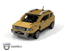 Dacia Duster II (lego911) Tags: dacia duster ii 2018 2010s cuv crossover renault renaultnissan b0 romania auto car moc model miniland lego lego911 ldd render cad povray eastern europe south america india 4wd 4x4 compact wagon suv foitsop