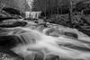 Oneida Falls BW -8562 (NWPaddler) Tags: 2018 blackwhite mono oneidafalls pa pennslvania rickettsglenstatepark rickettsglens spring statepark waterfalls hiking longexposure stream water waterfall