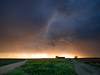 Camino de tormenta (una cierta mirada) Tags: paths nature storm stormy rain clouds cloudscape sky green sun sunset sunrise panasonic lumix dmcgx8 lumixgvario1260f3556