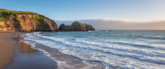 Rodeo Beach South (Matt McLean) Tags: beach california cliffs coast ocean pacific rodeobeach sanfrancisco surf tide