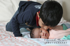Brotherly love (ZH-Photography) Tags: portrait personality wonderful bond brothers kiss happiness colour childhood brotherly love memories