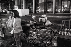 last christmas (a└3 X) Tags: street alexander black with blackwithe olympus streetphoto person blackandwithe monochrome streetphotography bw thailand thai