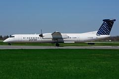 C-GLQD (Porter Airlines) (Steelhead 2010) Tags: porterairlines bombardier dhc8 dhc8q400 yhm creg cglqd
