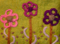Flowers (BKHagar *Kim*) Tags: bkhagar flower flowers 3 three trio cloth knit fabric