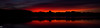 Fiery Sunset (MikeWeinhold) Tags: freemanlake crystallake northchelmsford chelmsford merrimackvalley massachusetts newengland sunset longexposure leefilters 6d 1740mm orange red lake