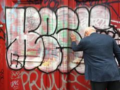 Doors of Graffiti (david ross smith) Tags: paris france graffiti art ad poster sign signage 11tharr 11tharrondissement text