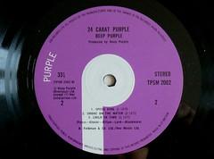 24 Carat Purple. Challenge Friday, week 16, theme smoke (2)  Deep Purple - Smoke on the Water (karenblakeman) Tags: challengefriday cf18 smoke smokeonthewater deeppurple 24caratpurple lp vinyl record april 2018 uk preciouspurple smileonsaturday