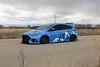Ford Focus RS on TSW Mosport concave wheels - 1 (tswalloywheels1) Tags: bagged air suspension camo wrap blue ford focus rs mk3 tsw mosport concave aftermarket wheel wheels rim rims alloy alloys