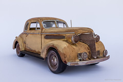 Barn Find (Ken Hendricks and Larry Patchett) Tags: motormax americanclassics 1939 chevrolet coupe barn find 124scale diecast model car