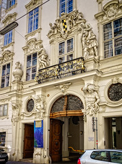 That's what I don't like in Vienna (Tiigra) Tags: wien austria at 2017 architecture balcony baroque city door lattice nude ornament palace portal poster sculpture statue vienna wood arch art