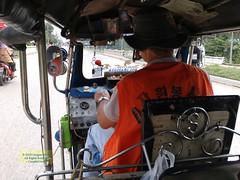 Thailand Aranyaprathet Tuk-Tuk 20180131_115000 LG (CanadaGood) Tags: asia seasia asean thailand thai tuktuk vehicle highway people person canadagood 2018 thisdecade color colour ราชอาณาจักรไทย cameraphone