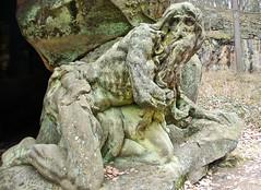 Matthias Bernard Braun: Hermit - DSC_7915p (Milan Tvrdý) Tags: kuks czechia czechrepublic matyášbernardbraun mattiasbernardbraun špork sporck statues baroquespital matthias matthiasbernardbraun hermit juangarin novýles