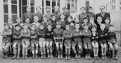 Class 2 (theirhistory) Tags: boy child children kid school group class form pupils students teacher jacket coat shorts shoes wellies boots