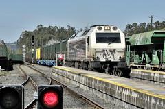 333.376 escombraries Meirama-Lugo (Andreu Anguera) Tags: ferrocarril tren basuras sogama escombraries máquina 333376 renfe meirama lugo betanzosinfesta andreuanguera