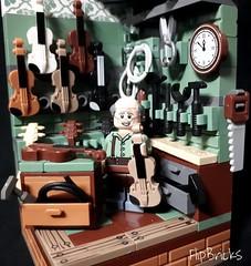 LEGO The Violin Maker MOC (FlipBricks) Tags: lego brickforge brickwarriors moc music violin