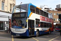 Stagecoach Midlands 15453 MX08GJE (SlightlyReliable70) Tags: stagecoach midlands northampton east bedford 36207 15453 37062 19703 peterborough citi 9 9a dunston drapary bus group alexander dennis enviro 200 adl e200 400 e400