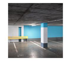 *** (dzarro72) Tags: urban minimal abstract interior garage square digital panasonic lumixlx100 warsaw
