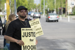 Memorial Rally for Terrance Mookie Franklin (Fibonacci Blue) Tags: minneapolis protest demonstration memorial shooting minnesota event blm dissent franklin outcry lyndale police outrage twincities sign justice street activist activism