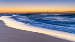 Dawn Seascape (Merrillie) Tags: daybreak wamberalbeach sand sunrise nature australia surf wamberal centralcoast newsouthwales waves earlymorning nsw morning beach ocean sea sky landscape coastal seascape outdoors waterscape dawn coast water seaside