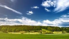 Jarní krajinka / spring landscape (novjana) Tags: landscape krajina jaro tráva grass obloha sky