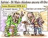 """Melina GialloVerde (Moise-Creativo Galattico) Tags: editoriali moise moiseditoriali """"editorialiafumetti"""" giornalismo attualità satira vignette salvini dimaio 48ore"""
