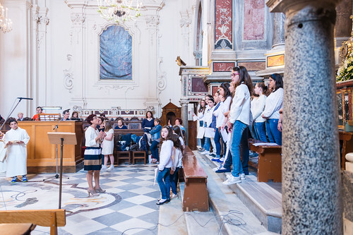 First Holy Communion at Amalfi Cathedral