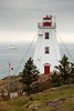 The Lighthouse and the Ferry (Devon OpdenDries) Tags: travel maritimes grandmanan island newbrunswick nautical ocean nature scenic fishing outdoors boat ship water ferry lighthouse swallowtail point northhead