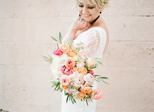 """Ranunculus, Peony, & Garden Rose Bridal Bouquet • <a style=""""font-size:0.8em;"""" href=""""http://www.flickr.com/photos/81396050@N06/40474723290/"""" target=""""_blank"""">View on Flickr</a>"""