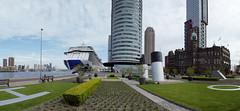 20180427-009 Rotterdam Katendrecht Deliplein and Cruise terminal (SeimenBurum) Tags: rotterdam cruiseship cruise cruiseterminal regalprincess panorama