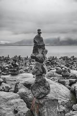 Balanced (JPaulTierney) Tags: 2018 a6000 april iceland sony rocks stacked reykjavík balance
