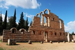 Ancient City of Anjar Grand Palace (h0n3yb33z) Tags: anjar lebanon unesco umayyad ruins roman byzantine