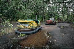 Bumper cars (Lesley Langeveld) Tags: bumper cars dodgem dodgems pripyat chernobyl ukraine abandoned nuclear disaster urbex urban exploration