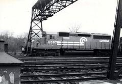 Conrail 6397 (CPShips) Tags: conrail emd sd402 abramsyard 1978