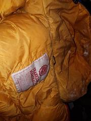 Franklin &Marshall puffa coat found in bin. (Clothes Mountain) Tags: coat jacket puffa puffer nylon thrown away rubbish waste winter bubblecoat hood hooded bin disposal refuse