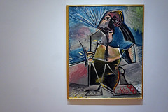 At Work by Pablo Picasso - Museum of Modern Art, New York City (SomePhotosTakenByMe) Tags: atwork picasso pablopicasso kunst art urlaub vacation holiday usa america amerika unitedstates nyc newyork newyorkcity manhattan midtown uptown downtown innenstadt stadt city indoor museum museumofmodernart moma ausstellung exhibition painting gemälde