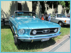 Ford Mustang Convertible, 1967 (v8dub) Tags: ford mustang convertible 1967 cabrio cabriolet schweiz suisse switzerland bleienbach american muscle pkw pony voiture car wagen worldcars auto automobile automotive old oldtimer oldcar klassik classic collector