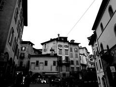 Bergamo Alta (SixthIllusion) Tags: bergamo alta architecture italy travel travelling back white city