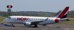 Embraer 170: 17000307 F-HBXH HOP! Newcastle Airport (emdjt42) Tags: embraer erj170 hop newcastleairport