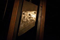 Guillotine, Gravensteen, Gent, Belgium (IFM Photographic) Tags: img2137a canon 600d ef2470mmf28lusm ef 2470mm f28l usm lseries ghent gent gand flemishregion régionflamande vlaamsgewest eastflanders flandreorientale ostflandern oostvlaanderen flanders flandre flandern vlaanderen belgium belgië belgique belgien gravensteen castle guillotine fallbeil fallingaxe madamelaguillotine
