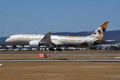 A6-BLL Etihad Airways Boeing B787-9 Dreamliner (johnedmond) Tags: perth ypph westernaustralia etihad boeing b787 7879 dreamliner aviation aircraft aeroplane airplane airliner plane sel55210 55210mm ilce3500 sony