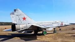 Mikoyan-Gurevich Mig.25BM c/n 66005425 Belarus Air Force code 78 red (sirgunho) Tags: belarus minsk museum aviation technology музей авиационной техники preserved mikoyangurevich mig25bm cn 66005425 air force code 78 red