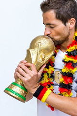 Kissing the World Cup Trophy (marcoverch) Tags: fusball trohpy fusballwm titelverteidigung souvenir moskau schwarzrotgold weltmeisterschafft germany titel weltmeister football russland2018 wm2018 deutschland kissing worldcuptrophy man mann people menschen competition wettbewerb fun spas adult erwachsene portrait porträt one ein joy freude victory sieg wear tragen young jung enjoyment vergnügen child kind festival celebration feier love liebe outdoors drausen soccer happiness glück candid bench pose 7dwf day downtown wasser coth5 naturephotography