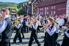 Norwegian national day (hallo_maimouna) Tags: parade children national day norway bergen celebration people sunny nasjonal dag