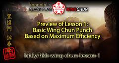 Wing Chun Punch Using Maximum Efficiency (Hek Ki Boen Eng Chun) Tags: wing chun kung fu ip man movie technique video training forms dummy schools yim