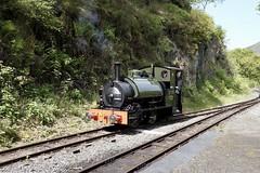 Talyllyn Railway - Nant Gwernol (David S Wilson) Tags: talyllyn 2018 davidswilson x100f wantgwernol wales mountains sirhaydn no3 narrowgauge