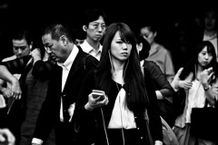 Shimbashi Blues (Victor Borst) Tags: street streetphotography streetlife instagram shimbashi blues reallife real realpeople salarymen woman women ladies lady blackandwhite bw travel travelling trip traveling urban urbanroots urbanjungle portrait streetportrait mono monotone monochrome canon5dmarkii candid canon traffic city cityscape citylife tokyo japan japanese